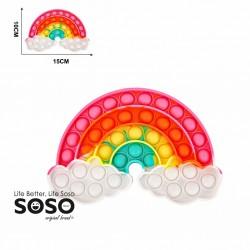 POP IT forma di arcobaleno...