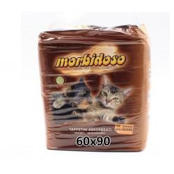 Morbidoso tappetini igienici impermeabili per animali domestici 60x90cm (10pz) - 1
