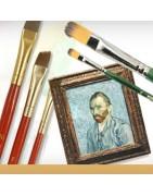 Pennelli per dipingere - vendita online hobby creativi - Sosoitaly